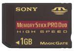 Sony Memory Stick Pro Duo 1 GB