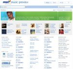 MSN Music Web - internetowy sklep muzyczny koncernu Microsoft