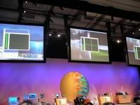 Na wykresach widzimy obciążenie procesora wykonującego te same zadania, od lewej: układ standardowy, dwurdzeniowy, z technologią HT