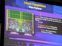 Schemat budowy procesora Yonah