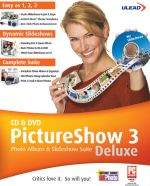 Ulead CD and DVD Picture Show Deluxe 3