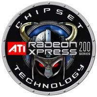 Logo chipsetów serii ATI Radeon Xpress 200