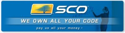 Podmieniony banner SCO