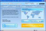 Witryna internetowa wygaszacza Lycos